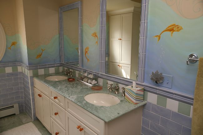 winchester ma kids bathroom remodel