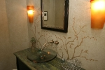 Andover, MA half bath remodel