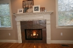 Winchester, MA Custom fireplace