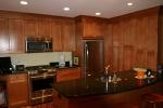 Brookline, MA small condo kitchen