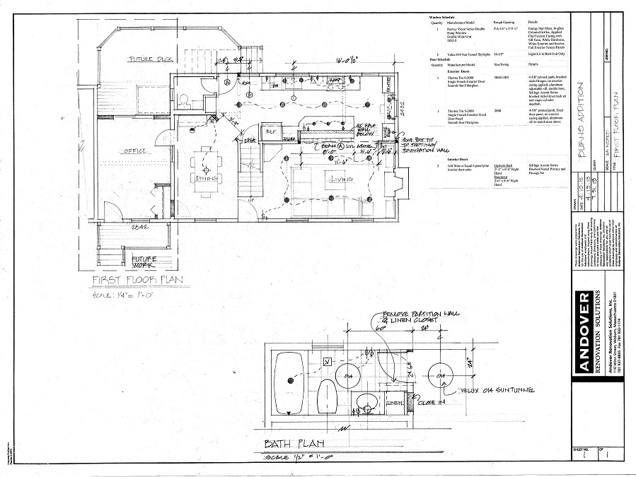 Blueprints home renovation kitchen designs in andover ma andover blueprint3 malvernweather Choice Image