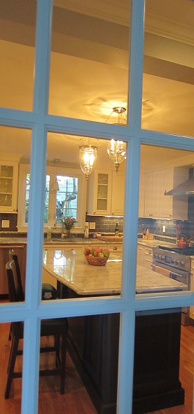 new window looking into kitchen